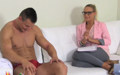 FemaleAgent - Big cumshot on agents stomach   Redtube Free Amateur Porn Videos, Movies   Clips